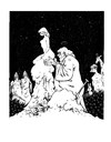 Cartoon: Kreation (small) by Reiner Schwalme tagged mensch,gott,frau
