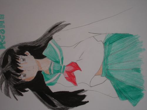 Cartoon: Kagome (medium) by muhmeh tagged manga