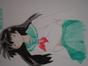Cartoon: Kagome (small) by muhmeh tagged manga
