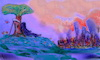 Cartoon: the beautiful view (small) by ab tagged death,town,burning,destroy