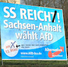 Cartoon: wahlplakate (small) by ab tagged wahl,plakate,werbung,afd,deutschland