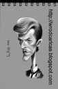 Cartoon: David Bowie (small) by WROD tagged david,bowie