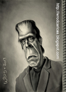 Cartoon: Herman Munster (small) by WROD tagged herman,munster
