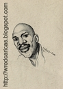Cartoon: Kareem Abdul Jabbar (small) by WROD tagged kareem,abdul,jabbar,nba,basketball,player