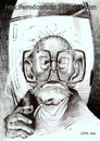 Cartoon: Mircea Eliade (small) by WROD tagged mircea,eliade,the,great,romanian,personalities