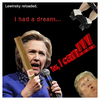 Cartoon: Lewinsky reloaded. (small) by Night Owl tagged hillary,clinton,bill,monica,lewinsky,donald,trump,usa,zigarre,cigar