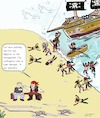 Cartoon: Pirate Contingency Plan (small) by paparazziarts tagged contingency,plan,risk,management,mitigation,piracy,brain,damage