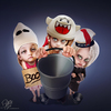 Cartoon: Happy Halloween (small) by Bart van Leeuwen tagged halloween,boo,ghostbusters,puft,ghost