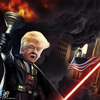 Cartoon: Lady Trump (small) by Bart van Leeuwen tagged trump,lady,liberty,darth,vader,smoke