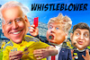 Cartoon: Whistleblower Ukraine Biden (small) by Bart van Leeuwen tagged whistleblower,ukraine,joe,biden,trump,whistleblowergate,ukrainegate,zelensky