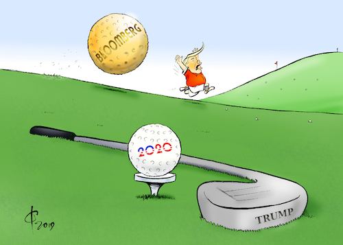 Cartoon: Bloomberg (medium) by Paolo Calleri tagged usa,praesident,donald,trump,wahlkampf,praesidentschaft,praesidentschaftswahl,2020,michael,bloomberg,milliardaer,unternehmer,politiker,buergermeister,new,york,karikatur,cartoon,paolo,calleri,usa,praesident,donald,trump,wahlkampf,praesidentschaft,praesidentschaftswahl,2020,michael,bloomberg,milliardaer,unternehmer,politiker,buergermeister,new,york,karikatur,cartoon,paolo,calleri