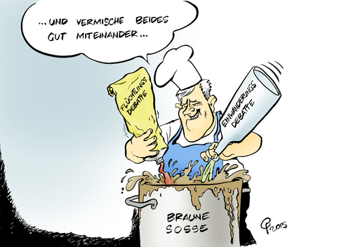 Koch von paolo calleri politik cartoon toonpool for Koch deutschland