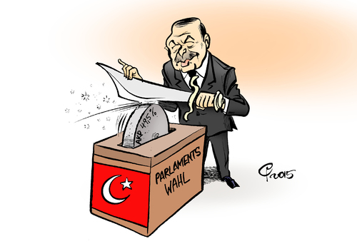 Cartoon: Scharfmacher (medium) by Paolo Calleri tagged mehrheit,absolute,akp,wahlen,parlamentswahlen,tuerkei,praesident,recep,tayyip,erdogan,demokratie,pressefreiheit,journalismus,opposition,kurden,syrien,polarisierung,nationalismus,karikatur,cartoon,paolo,calleri,tuerkei,parlamentswahlen,wahlen,akp,absolute,mehrheit,praesident,recep,tayyip,erdogan,demokratie,pressefreiheit,journalismus,opposition,kurden,syrien,polarisierung,nationalismus,karikatur,cartoon,paolo,calleri