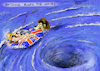 Cartoon: Britannia (small) by Paolo Calleri tagged eu,uk,gb,grossbritannien,london,union,europa,britannia,abstimmungen,unterhaus,parlament,konservative,remainers,brexiteers,austritt,chaos,karikatur,cartoon,paolo,calleri