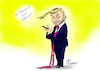 Cartoon: Christian Trump (small) by Paolo Calleri tagged deutschland,wahlen,fdp,union,gruene,sondierungsgespraeche,klima,klimaziele,klimaveraenderung,klimapolitik,trumpisierung,liberale,parteichef,christian,lindner,ehrgeizig,abkehr,karikatur,cartoon,paolo,calleri