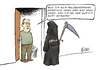 Cartoon: Ebola (small) by Paolo Calleri tagged usa,eu,afrika,deutschland,ebola,infektion,virus,verdachtsfaelle,karikatur,cartoon,paolo,calleri