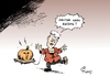 Cartoon: Halloween 2015 (small) by Paolo Calleri tagged eu,deutschland,fluechtlinge,fluechtlingskrise,asyl,regierung,groko,sigmar,gabriel,horst,seehofer,angela,merkel,treffen,koalitionsspitzen,koalition,cdu,csu,halloween,rechtsruck,grenzen,karikatur,cartoon,paolo,calleri