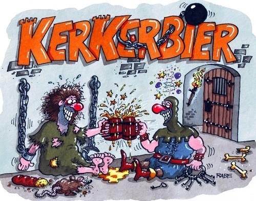 Cartoon: Biertipp von RABE Etikett (medium) by RABE tagged bier ...