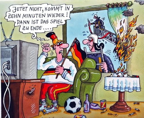 Brenzliges Von Rabe Sport Cartoon Toonpool