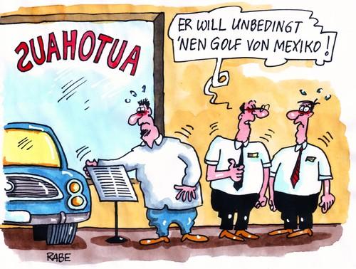 Cartoon golf von mexiko medium by rabe tagged autohaus