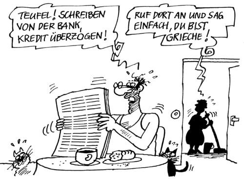 Mahnung Ii Von Rabe Politik Cartoon Toonpool