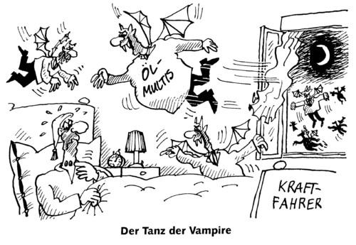 vampirtanz von rabe politik cartoon toonpool. Black Bedroom Furniture Sets. Home Design Ideas