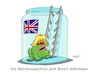 Cartoon: Dicke Luft (small) by RABE tagged brexit,no,deal,johnson,boris,downing,street,austritt,eu,brüssel,london,rabe,ralf,böhme,cartoon,karikatur,pressezeichnung,farbcartoon,tagescartoon,may,juncker,luxemburg,telefonat,merkel,wetterfroch,glas,leiter,wetteraussichten,brexitgespräche,scheitern,kröte