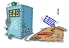 Cartoon: EZB Loading (small) by RABE tagged griechenland,athen,austritt,eurozone,linksbündnis,rabe,ralf,böhme,cartoon,karikatur,pressezeichnung,farbcartoon,tagescartoon,syriza,tsipras,ezb,brüssel,schuldenschnitt,schäuble,loading,bundestag,abstimmung,hilfspaket,rettungspaket,grexit