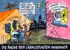 Cartoon: Lärmgeplagte (small) by RABE tagged lärm,ruhestörung,krach,krawall,dezibel,musik,disco,blasmusik,fest,kirmes,konzert,festzelt,bierzelt,feier,rabe,ralf,böhme,cartoon,karikatur,schall,schallwellen,nacht,polizeistunde,schnarchen,schnarcher,ohropax,gaumensegel,nase,erstickungsgefahr
