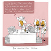 Cartoon: Quotenfrau (small) by Schilling  Blum tagged frau,frauenquote,märchen,machos,schreiben,literatur