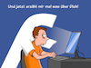 Cartoon: Facebook (small) by CloudScience tagged facebook,daten,datenklau,ueberwachung,nsa,skandal,zuckerberg,big,data,analyse,internet,vernetzung,digitalisierung,digital,soziale,netwerke,informationen,surfen,geheim,cloud,cartoon,moeller