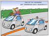 Cartoon: Gläserner Fahrer (small) by CloudScience tagged verkehr,strasse,mobilitaet,abhoeren,nsa,snowden,ueberwachung,technologie,logistik,algorithmen,ki,ai,daten,datenschutz,mithoeren,bigdata,big,data,zukunft,cartoon,moeller,illustration,satire,innenraum,informationen,cloud,spracherkennung,digitalisierung,digital,ethik,glaeserner,fahrer,fahren,technik,it,autodach,sitzen,sicherer