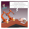 Cartoon: Predictive Maintenance (small) by CloudScience tagged predictive,maintenance,wartung,industrie,40,fabrik,roboter,kuka,industrieroboter,produktion,smart,factory,robotik,digitalisierung,digital,tech,technik,technologie,computer,ki,künstliche,intelligenz,maschine,automatisierung,learning,kneipe,innovation,daten,zukunft,trend,iot,internet,der,dinge