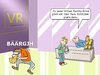 Cartoon: Virtual Reality Brille (small) by CloudScience tagged virtual,reality,übelkeit,brille,dimension