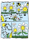 Cartoon: Secret Life of Flowers 1 (small) by thetoonist tagged flowers,bees,humor,satire