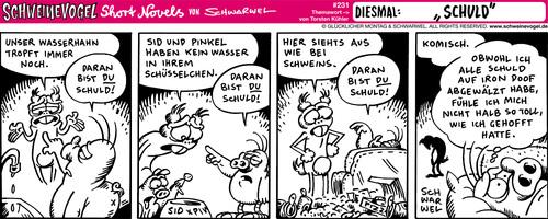 schweinevogel schuld von schweinevogel  philosophie  ~ Wasserhahn Comic