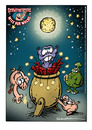 Cartoon: Schweinevogel Witz der Woche 060 (small) by Schweinevogel tagged happy new year neujahr swampie iron doof schweinevogel sid schwarwel witz cartoon raketen 2011 silvester