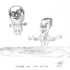 Cartoon: ler pen sarkosy (small) by sasch tagged sarko,regionalwahl,national,französisch