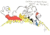 Cartoon: Wulff Ehrensold (small) by tiede tagged wulff,ehrensold,tiede,tiedemann