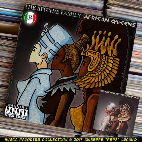 Cartoon: The Ritchie Family - African Que (medium) by Peps tagged the,ritchie,family,african,queens