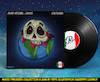 Cartoon: Jean Michel Jarre - Oxygene (small) by Peps tagged jean,michel,jarre,oxygene