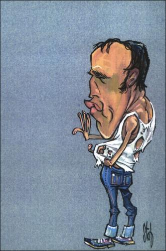 Cartoon: Movie Caricatures 9 (medium) by Stef 1931-1995 tagged movie,caricature,hollywood
