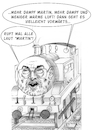 Cartoon: Landtagswahlen im Saarland... (small) by Thomas Vetter tagged martin,schulz,spd