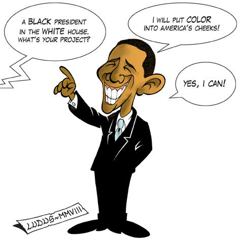 Cartoon: Obama (medium) by Ludus tagged obama,usa,president