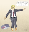 Cartoon: Johnson Head of Tories (small) by Barthold tagged boris,johnson,head,party,tories,conservatives,prime,minister,brexit,pumps,leopard,design,lever,arch,file