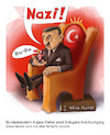 Cartoon: In der Hand (small) by CF tagged erdogan,merkel,nazi