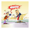 Cartoon: Erdogan in Greece (small) by vasilis dagres tagged erdogan,greece,turkey