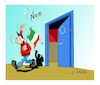 Cartoon: Italian elections (small) by vasilis dagres tagged italian,elections
