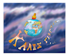 Cartoon: Merry Christmas happy holidays (small) by vasilis dagres tagged earth