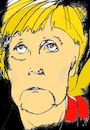 Cartoon: Ich hasse Wahlen (small) by higi tagged merkel angela wahlkampf politik cdu deutschland